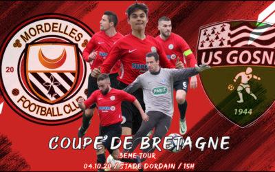 Coupe de Bretagne. L'US Gosné au 3ème tour pour le FCM