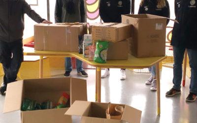 87kg de denrées alimentaires pour les étudiants livrés à Epi'Free