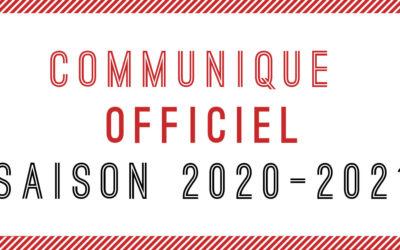 Saison 2020-2021. Clap de fin pour tous les championnats amateurs