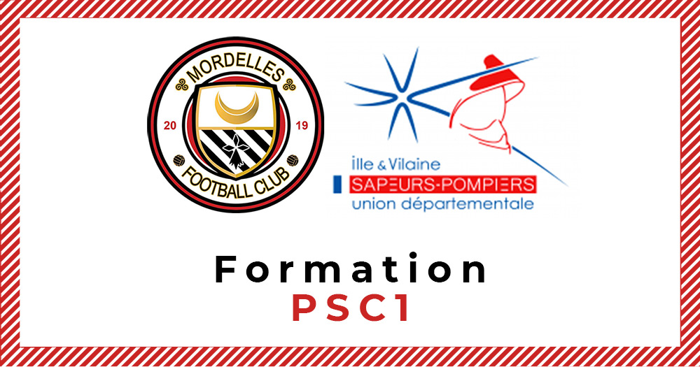 Dirigeants. Formez-vous aux premiers secours (PSC1) avec le FC Mordelles