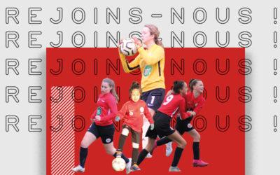 Recrutement. Rejoignez l'équipe U15 Féminines à 11 du FC Mordelles